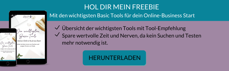 Freebie Basic Tools-Olga Weiss Technik-Expertin