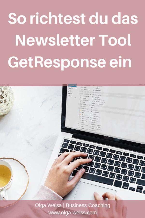 In dieser Anleitung lernst du, wie du in 5 Minuten das Newsletter-Tool GetRespnse einrichtest. Und welche Vorteile es gegenüber anderen E-Mail-Marketing Tools hat.