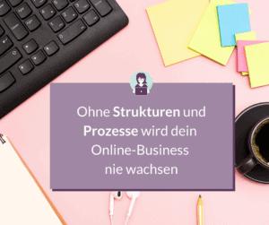 Strukturen und Prozesse im Online Business