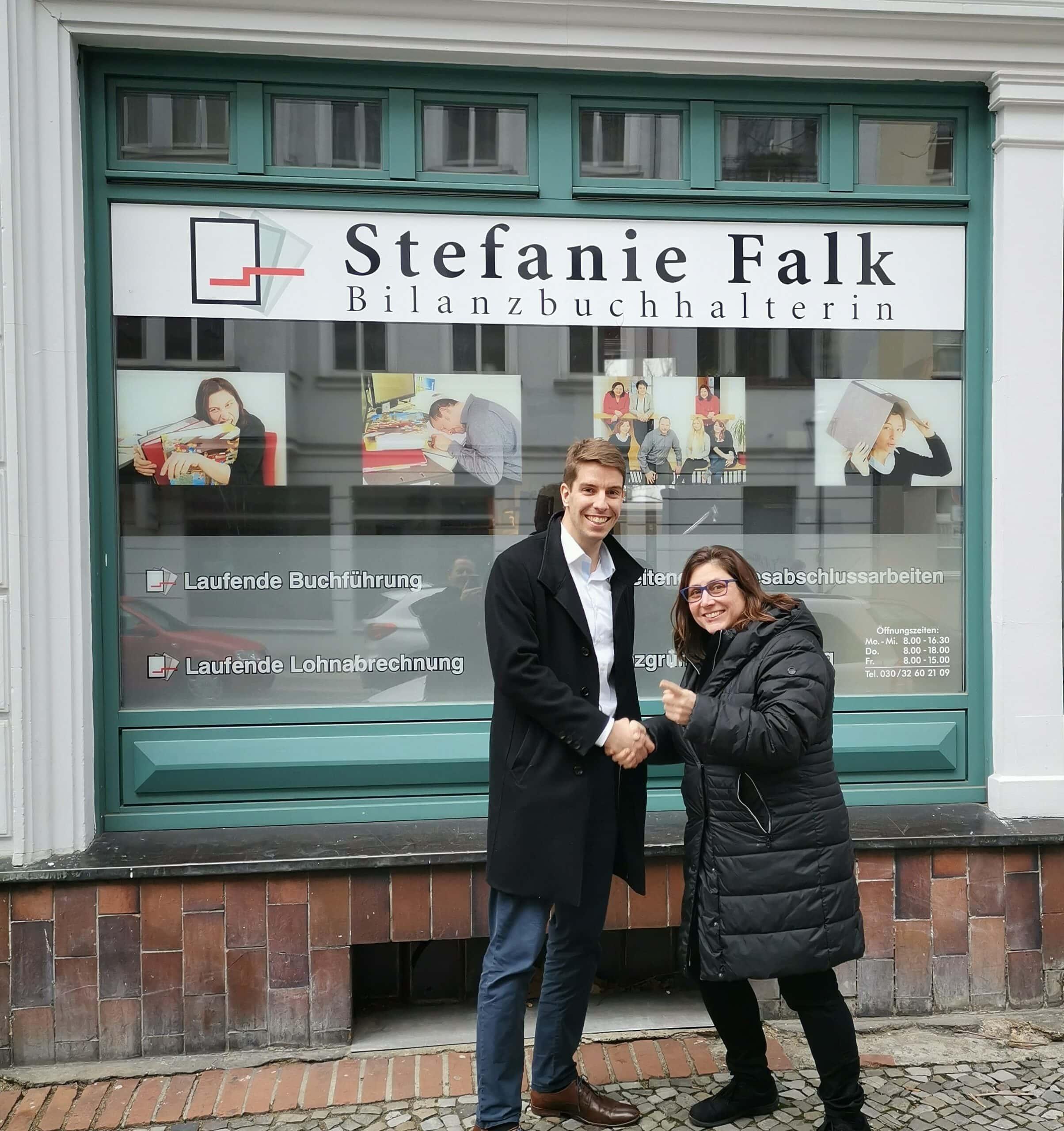 Testimonial von Stefanie Falk - Justbibu.de